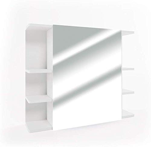 Vicco Spiegelschrank Fynn 80cm Badezimmer-Spiegel Hängespiegel Badspiegel Badezimmerspiegel Wandspiegel