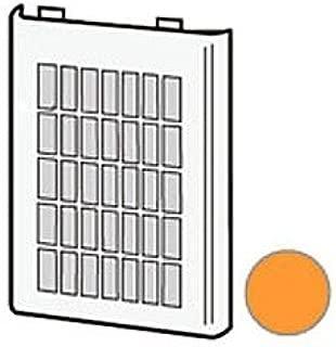 シャープ プラズマクラスターイオン発生機用フィルター2813370034(吸込口・1枚)(オレンジ系)[適合機種]IG-C20-D