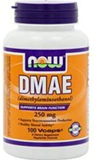 Now Foods Dmae, 100 Capsules / 250mg Please Read The Details Before Purchase. There is no Doubt The 24-Hour Contacts.