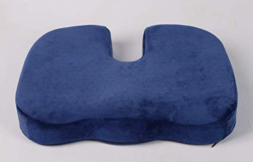 Seat Cushion for Office Chair - Tailbone Cushion - Memory Foam Seat Helps with Sciatica Back Pain