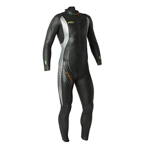 blueseventy 2019 Men's Thermal Reaction Triathlon Wetsuit - for Cold Open Water Swimming - Ironman & USAT Approved (SMT)