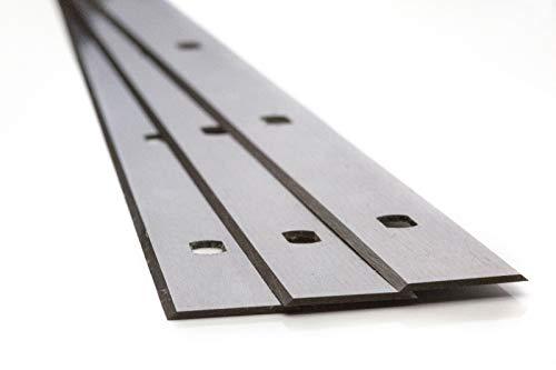 4 Stück Hobelmesser 310 x 18,6 x 1 für Felder Hohe Qualität