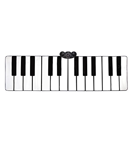 FAO Schwarz Musical Step 'N' Play Piano Dance Mat, Large