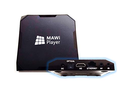 MAWi Player Bundle by Monitors AnyWhere- Display Your Content on Multiple Monitors Using a Single PC! Game Changer for Digital Signage and Video Walls! Android-based AV-over-IP connectivity solution!