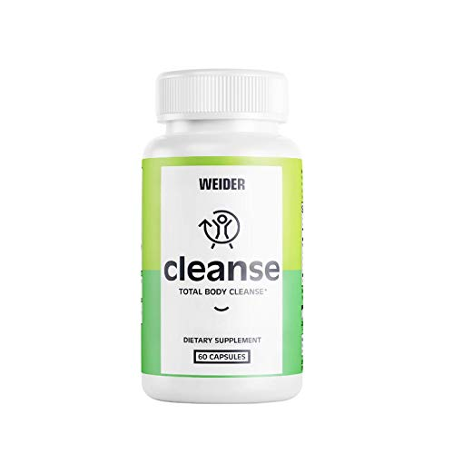 8 in 1 Total Body 10-Day Cleanse, Dietary Supplement to Detox and Cleanse, Quick Cleanse Pills with Slippery Elm, Psyllium Husk, White Oak Bark, and More (60 Capsules)