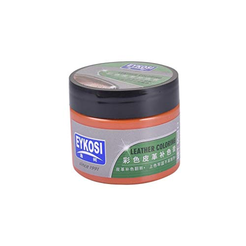 Leather Recoloring Balm Repair and Re-Color Kit for All Vinyl & Leather. Restores to New Condition, Car Seats, Boats, Upholstery, Sofas, Chairs, Leather Coats, and More Leather Cleaner Cleaning