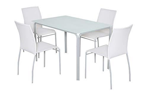 Bianco Plicosa M291817-Sedia Ferro textilene