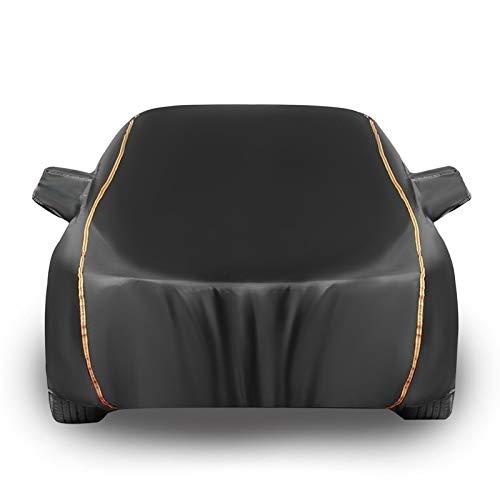 Car Covers Autoplane Autoabdeckung kompatibel mit FIAT 124 Spider, Autohülle Autogarage Vollgarage Hagelschutz Staubdicht Wasserdicht Autohülle Autoplane Sonnenschutz Anpassbar