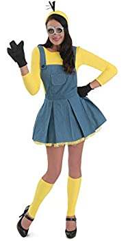 Princess Paradise Women s Minions Deluxe Costume Jumper As Shown Small
