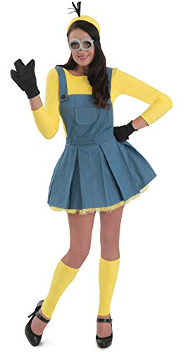 Princess Paradise Women's Minions Deluxe Costume Jumper, As Shown, X-Large