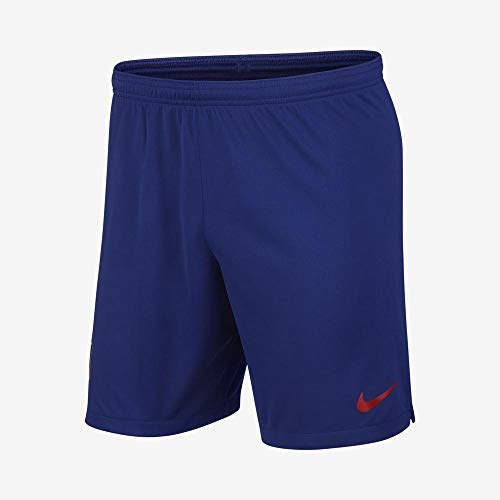Nike Herren Hose ATM M Nk BRT Stad Short Ha3 L tiefes Königsblau/Sport-rot