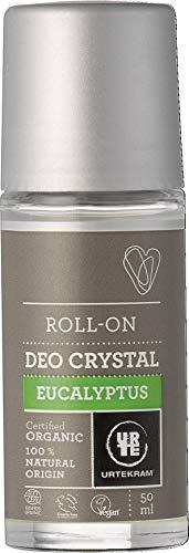 Urtekram Desodorante Cristal de Eucalipto con Roll-On - 50ml