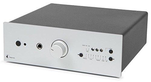 Pro-Ject MaiA DS, Stereo-Vollverstärker mit 9 Eingangsoptionen & App-Steuerung (Silber)