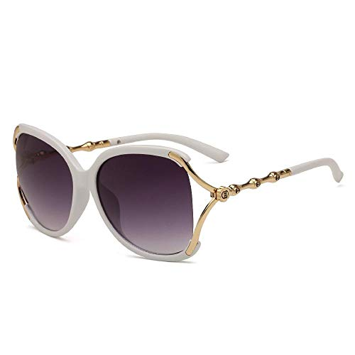 Nobrand Duchy 6025 gafas de sol mujer gafas de sol 2018 nuevas gafas de sol con estilo con un gran marco para el comercio exterior europeo y americano