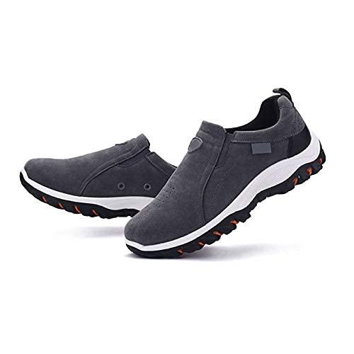 Syfinee Zapatos de senderismo antideslizantes resistentes al desgaste para hombre,Zapatillas de trail Running Zapatos,Trekking zapatos transpirables,Zapatos casuales para caminar