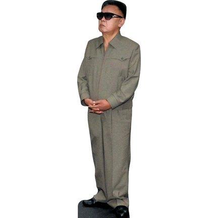 H10093 Kim Jong-il Cardboard Cutout Standee Standup