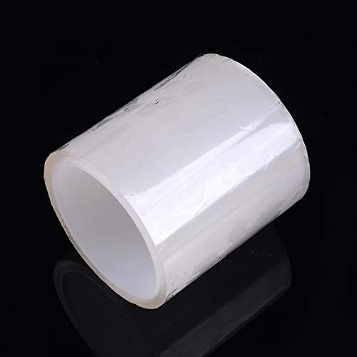 beler 10 cm Transparente Placa de Puerta de Coche Cubierta de Desgaste de umbral Protector Invisible Pegatina Anti arañazos Parachoques Tira de Cuerpo