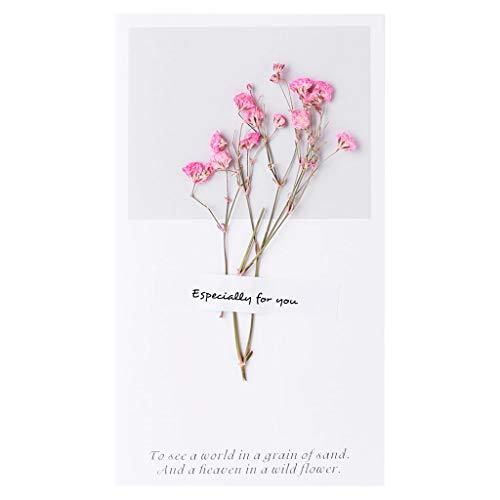 Manyo Hochzeitsstück, Orientalisch, Einladungskarte, Hochzeit, Verlobung, Geburtstag, Verlobung, Muttertag, Thanksgiving, Ciel Étoilé Rose, 3.5 x 6.22