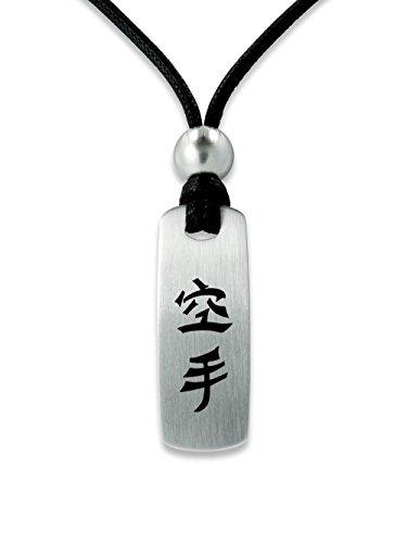 C2 Sportschmuck Halskette Karate E Symbol