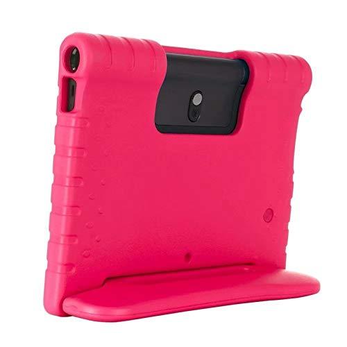 GHC Pad Fundas & Covers para Lenovo Yoga Smart Tab YT-X705 10.1, Niños a Prueba de Golpes EVA Stand Handing Cover para Lenovo Yoga Tab 5 (Color : Hot Pink, Talla : For Tab5 YT X705F)
