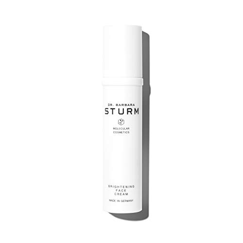 Dr. Barbara Sturm Brightening Face Cream - Facial Moisturizer with Hyaluronic Acid, Ginseng Extract + Vitamin E for Dark Spots + Pigmentation (50ml)