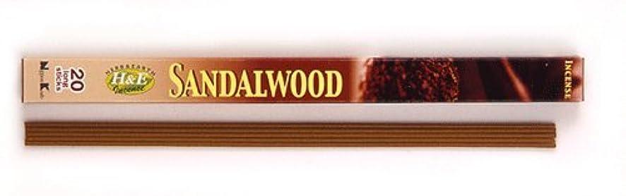 自体ペニー法律HERB&EARTH Incense SANDALWOOD サンダルウッド スティック 【お香】