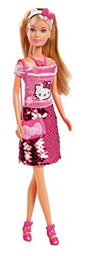 Simba- Steffi, Hello Kitty Muñecas, Multicolor (109283010)