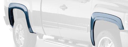 Bushwacker 40923-02 Black OE-Style Smooth Finish 4-Piece Fender Flare Set for 2007-2013 Silverado 1500; 2007-2014 Silverado 2500 HD, 3500 HD (Excludes Dually)