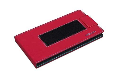Hülle für Archos 40 Power Tasche Cover Hülle Bumper | Rot | Testsieger