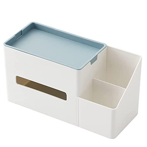 Hermosa Caja de tejido Caja de tejido Se utiliza para almacenar cosméticos, control remoto, bolígrafo, libretas, caja de almacenamiento de cosméticos Caja de papelería de escritorio de oficina de escr