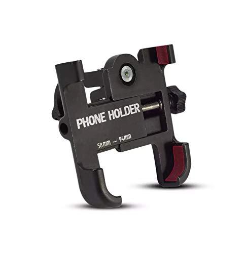 Tenedor del teléfono móvil de la aleación de Aluminio de la Bicicleta y de la Motocicleta, Conveniente la mayoría de los teléfonos Inteligentes