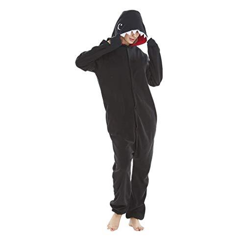 XYSQWZ Pyjamas für Männer Lustige, Erwachsene Pyjamas, Unisex Animal Onesies Neuheit Pyjamas Nachtwäsche Halloween Homewear Einteiliges Cosplay Kostüm Loungewear