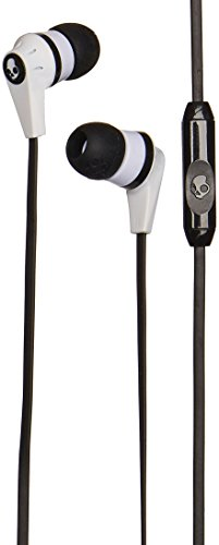 Skullcandy Ink'd 2 Earbuds with Mic1 White/Black/White, One Size
