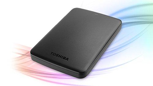 """Toshiba Canvio Ready 3 TB Hard-Disk Esterno, USB 3.0, 2.5"""", Nero"""