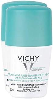Vichy Desodorante Roll On Anti transpirante 48h, 50ml.Pack 2Un