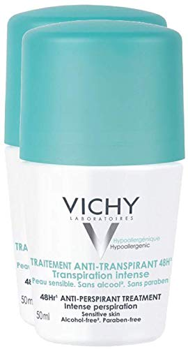 VICHY DEO Roll-on Anti Transpirant 48h Doppelpack 2X50 ml