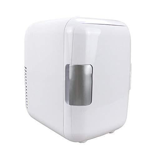 ANJIN 4L 12V Mini koelkast, draagbare thermo-elektrische koelbox/verwarmingsbox voor car camping (wit)