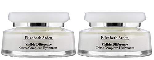 Elizabeth Arden - Crema hidratante para refinar la diferencia, 2 x 100 ml, una mejora espectacular en la apariencia de la piel en solo 14 – 21 días. (dos botellas)