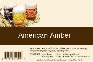American Amber All Grain Advanced Homebrew Beer Ingredient Kit