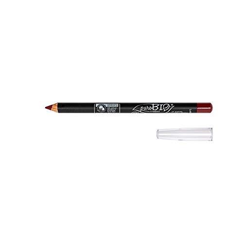 PUROBIO - Crayon à lèvres n. 47 - Rouge écarlate - Texture douce, marque précise, longue durée - à l'huile d'amande douce - Nickel testé - Vegan - Bio