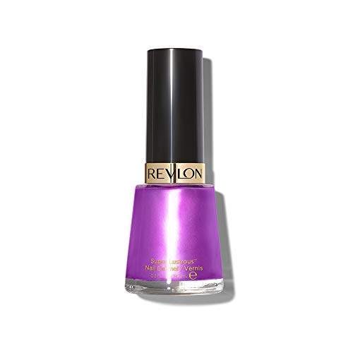 Revlon Nail Enamel, Chip Resistant Nail Polish, Glossy Shine Finish, in Plum/Berry, 450 Hypnotic, 0.5 oz
