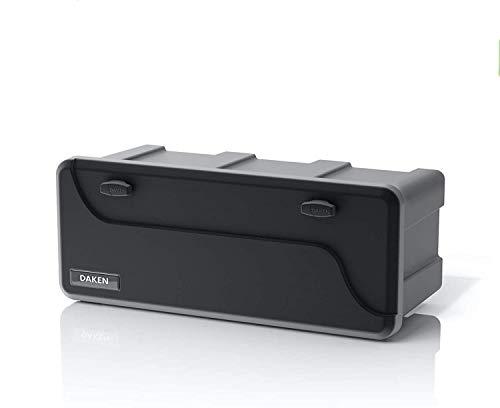 Deichselbox Daken Blackit L 750x300x355mm Werkzeugkasten Anhänger Staukiste Box