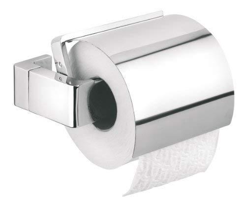 Tiger Ontario Toilettenpapierhalter mit Deckel, chrom