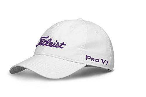 TITLEIST Damen Baseball Cap, Damen, TH8AWTPWEA-5P, Weiß/Violett (Blanco/Morado Th8Awtpwea-5P), Einheitsgröße (Herstellergröße:unica)
