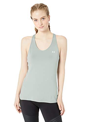 Under Armour UA Heatgear Racer, ademend sportshirt voor dames, comfortabel sportshirt met nauwsluitende pasvorm