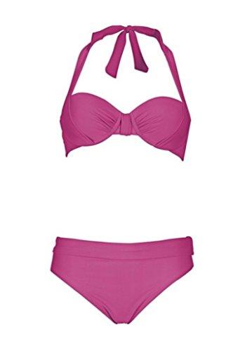 Wunderschöner Softcup-Bikini Bikini Bademode NEU Cup C Gr. 36 38 oder 40 pink