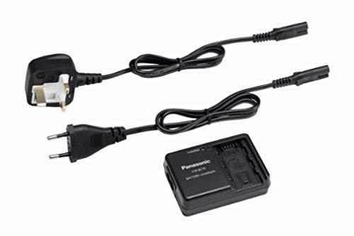 Panasonic VW-BC10E-K externes Ladegerät (geeignet für Panasonic Camcorder Akkus VBL090, VBK180, VBK360, VBY100, VBT190, VBT380)