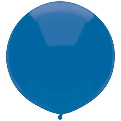BWS- Palloncino Pallone Gigante Grande Lattice 130 CM Maxi Blu, Colore, RG350-10
