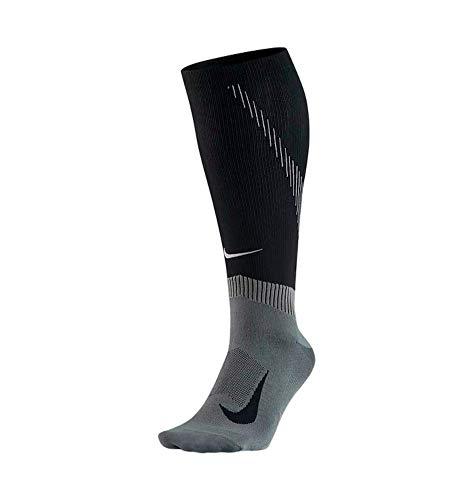 Nike Socken Spark Compression Knee-High Running, Black/Dark Grey, 41-43 EU, SX6267-010