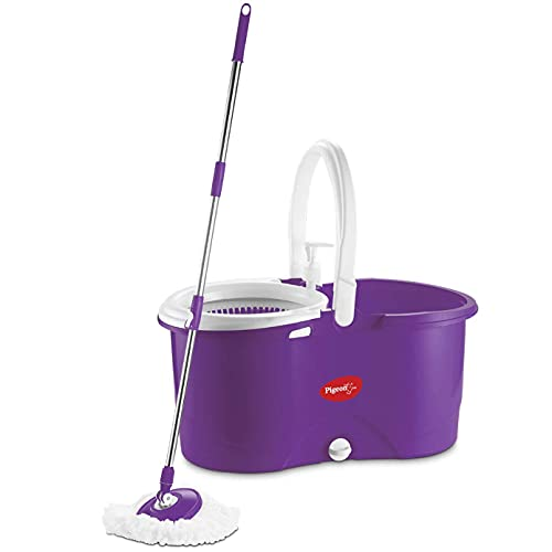 Pigeon Enjoy Spin Mop with 360 Degree Rotating PVC...